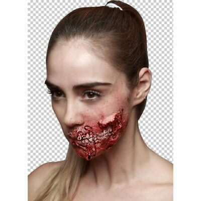 Prosthetic Wounds, Bite Me, Horror Halloween Fancy Dress