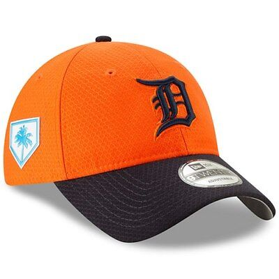 info for 540b9 f4550 Detroit Tigers New Era 2019 Spring Training 9TWENTY Adjustable Hat - Orange  Navy