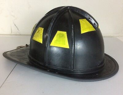 Morning Pride BF2 Black Fire Firefighter Helmet HT-BF2-HDO 2010