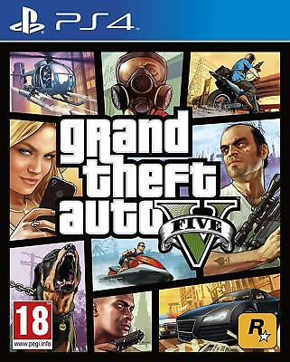 Grand Theft Auto V GTA 5 PS4 PlayStation 4 disco fisico edizione ITALIANO
