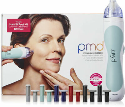 New1 Pmd Personal Microderm Appareil Inclus Main & Pied Kit