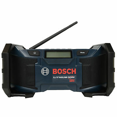 Bosch PB180 Reconditioned 18V Lithium-Ion Compact AM/FM/MP3 Jobsite Radio