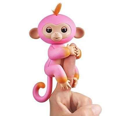 Fingerlings Baby Monkey - Two Tone - Summer (Pink and Orange) NEW