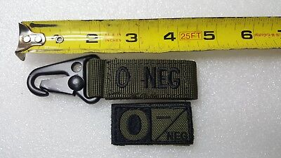 Condor Outdoor A Positive Blood Type MOLLE System Ready Key Chain