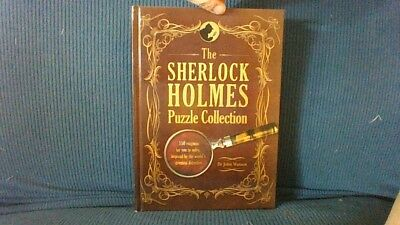 Sherlock Holmes Puzzle Collection Gift Present Box Handmade Diversion Safe Book