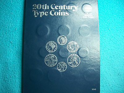 20 Th Century Type Coins Folder # 9046 Good Condition, & 29 Coins