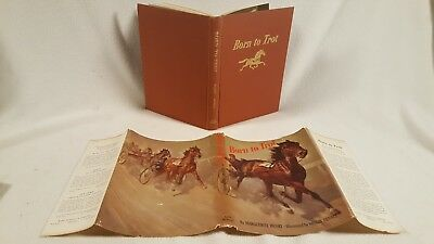 Vintage 1950 Marguerite Henry Signed First Edition ~ Born to Trot Wesley Dennis
