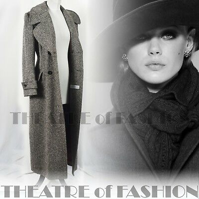 Coat Tweed Jacket Vintage Laura Ashley Victorian Riding 12 14 16 Edwardian Vamp