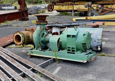 Industrial Cooling Tower Pump & Motor w/New Seals