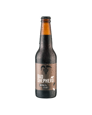 Bad Shepherd Brewing Co. Oatmeal Stout 330mL Beer Crown case of 24