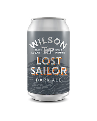 Wilson Brewing Company  Beer 375mL case of 24