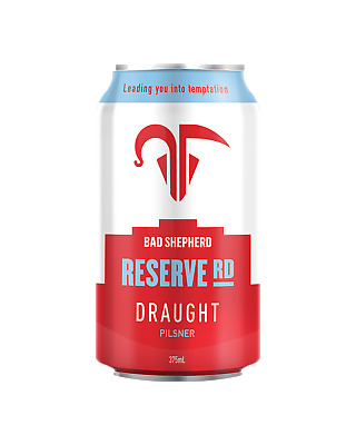 Bad Shepherd Brewing Co. Reserve Road Draught 375mL Beer case of 24