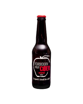 Forbidden Fruit Original Apple Cider Beer Crown 330mL case of 24