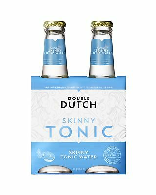 Double Dutch Skinny Tonic 4 x 200mL Other Drinks case of 24