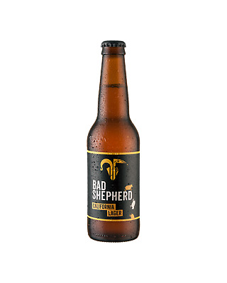 Bad Shepherd Brewing Co. California Lager 330mL Beer Crown case of 24