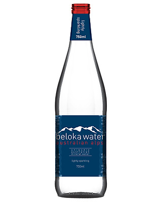 Beloka Lightly Sparkling Water 750mL Other Drinks case of 12