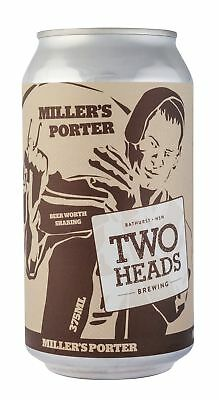 Two Heads Brewing  Beer 375ml case of 24