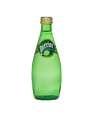 Perrier Lime Mineral Water 330mL Other Drinks case of 24