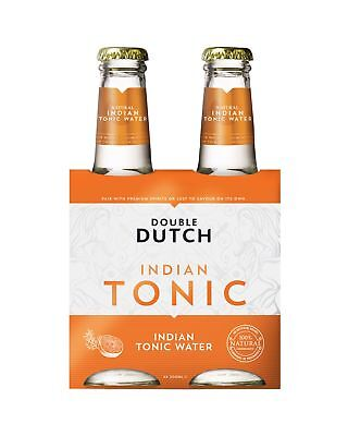 Double Dutch Indian Tonic 4 x 200mL Other Drinks case of 24