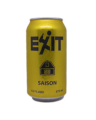 Exit Brewing Saison Beer 375ml case of 24