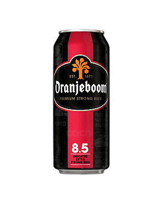 Oranjeboom Dutch Extra Strong Lager 8.5% Beer 500mL case of 24