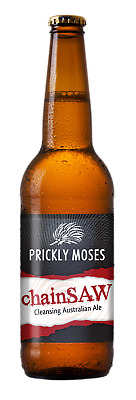 Prickly Moses ChainSAW Beer Crown 330mL case of 24