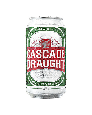 Cascade Draught Cans 375mL Beer case of 24