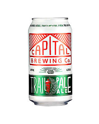 Capital Brewing Co  Beer 375mL case of 24