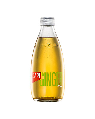 CAPI Dry Ginger Ale 250mL Other Drinks case of 24