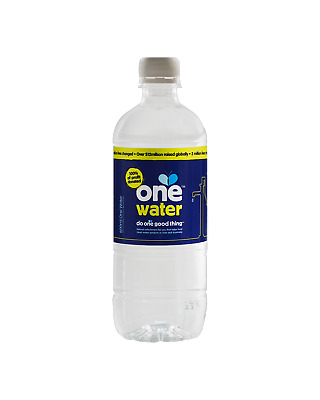 One Water 600mL Other Drinks case of 24