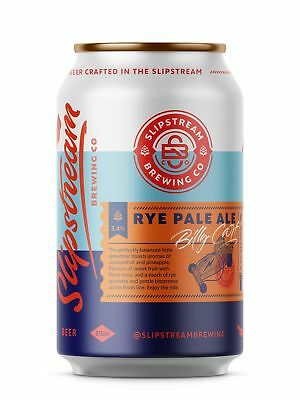 Slipstream Brewing Co Billy Cart Rye Pale Ale Beer 375ml case of 12