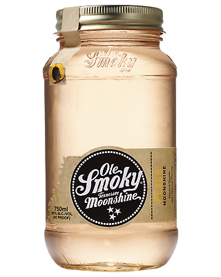 Ole Smoky Peach Moonshine 750mL Whisky Tennessee Screw Cap bottle