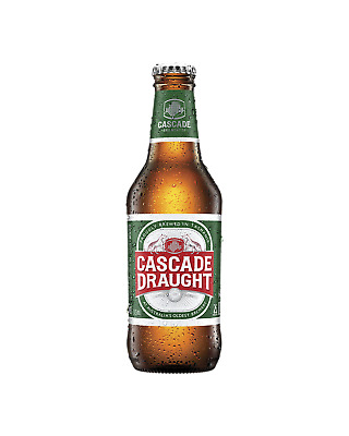 Cascade Draught Bottles 375mL Beer case of 24