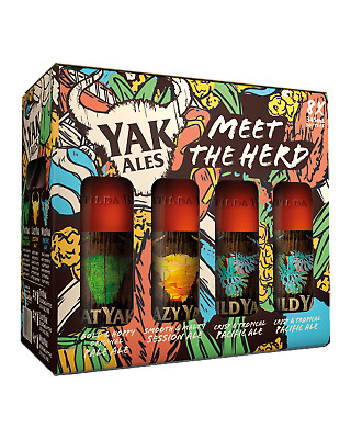 Yak Ales Yak Mixed 8 Pack Bottles 345mL Gifts pack of 8