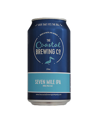 The Coastal Brewing Company Seven Mile IPA Beer 375mL case of 24