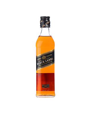 Johnnie Walker Black Label Scotch Whisky 375mL bottle