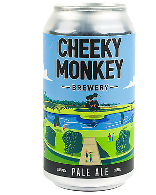Cheeky Monkey Brewery Pale Ale Cans 375mL Beer case of 16