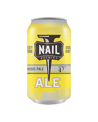 Nail Brewing Classic Pale Ale Cans 375mL Beer case of 16