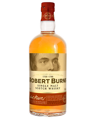 The Arran Robert Burns Scotch Whisky 700mL bottle