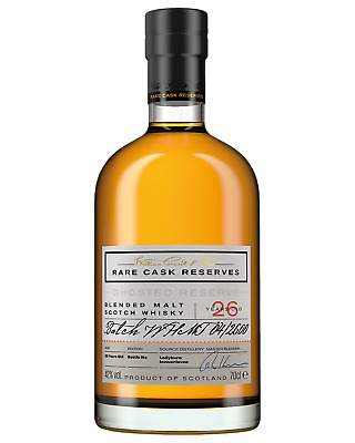 William Grant & Sons Rare Cask Ghosted Reserve 26 Year Old Scotch Whisky 700mL b