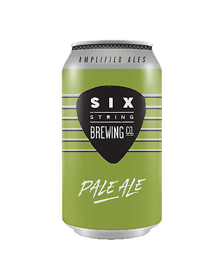 Six String Brewing Co. Pale Ale Cans 375mL Beer case of 24
