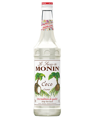Monin Coconut Syrup 700mL Other Drinks