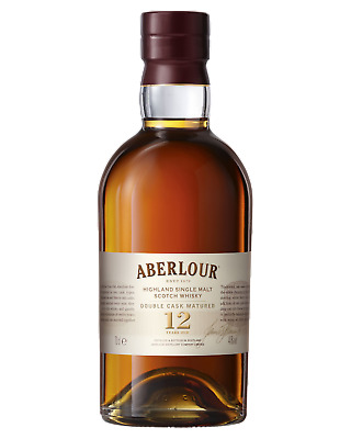 Aberlour 12 Year Old Double Cask Scotch Whisky 700mL case of 3