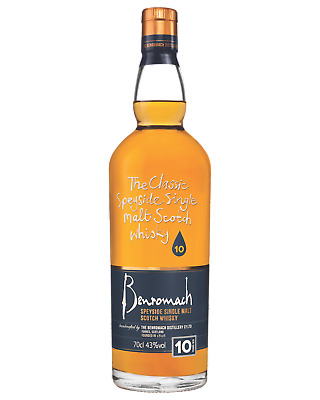 Benromach 10 Year Old Scotch Whisky 700mL bottle