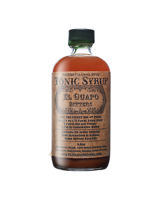 El Guapo Tonic Syrup 250mL Other Drinks bottle