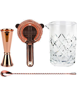 Cocktail Kit Old Fashioned Barware Kit - Copper Plated Other Drinks