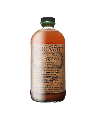El Guapo Tonic Syrup 488mL Other Drinks bottle