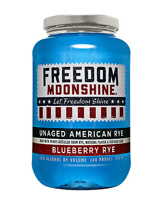 Freedom Moonshine  Whisky bottle