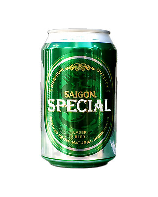 Saigon Beer Saigon Special Lager in Cans 330mL case of 24