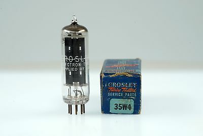 Vintage Crosley 35W4 / HY90 Half Wave Rectifier Mini 7 Pin Tube Valve - BangyBan